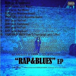 Rap&Blues Back Cover Art